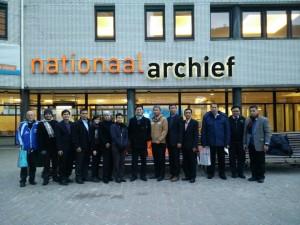 FKKP di depan Nationaal Archief Belanda